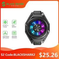 Schwarz Shark 3 Spaß Kühler 2 Pro BR20 FunCooler 2 Angepasst RGB Licht flüssigkeit Lüfter APP Control Bluetooth Telefon zubehör