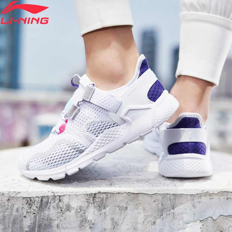 Li-Ning Women MAFIA The Trend Lifestyle Shoes Breathable LiNing Li Ning Leisure Sport Shoes Fitness Sneakers AGCP028 YXB283
