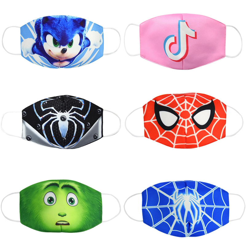Anti-Dust Face Mouth Mask Breathable Reusable Cotton Protective Children Kid Toy Cartoon Cute PM2.5 Anti Dust Mouth Face Mask