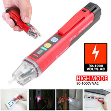 UNI-T 90~1000V Non-Contact AC LED Light Electrical Tester Pen Voltage Detector for Testing Socket Power Cable Circuit Breaker