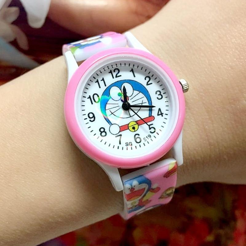 New Lovely Cartoon Cute Brand Quartz Watch Children Kids Girls Boys Casual Fashion Bracelet Wrist Watch Clock Relogio Wrist