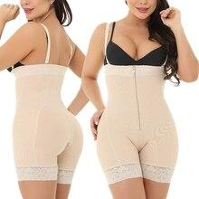 Plus Size Shape Wear Bodysuit Lingerie Push Up Seamless Slim Shapewear Slip Body Shaper Backless Women Waist Slimming Underwear колье sklv 94074625 s