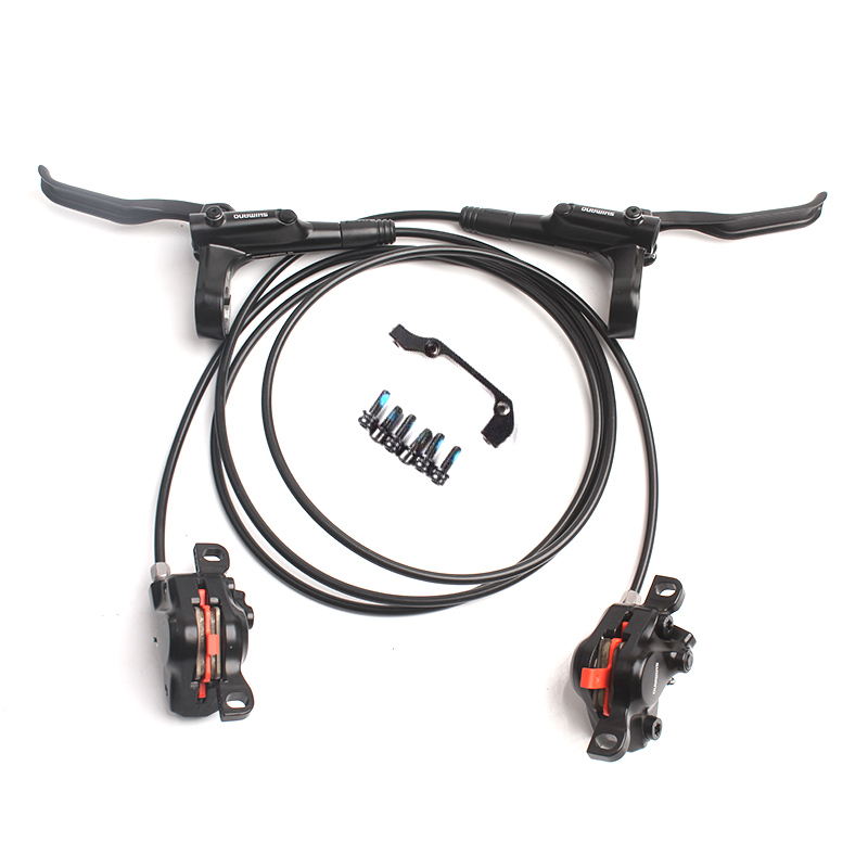 SHIMANO BR BL MT200 Hydraulic Disc Brake MTB Mountain Bike Brakes Left-Front & Right-Rear a Pair
