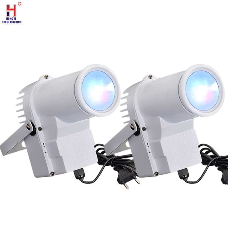 10W Led Pinspot Light DMX512 Wash Narrw Beam Pin Spot Lighting Mount RGBW Spotlight For Party,Disco DJ Mirror Balls (2pcs/lot)