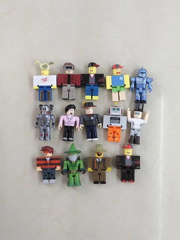 Figuras de ação de personagens robloxing, brinquedos de pvc, suíte, boneca, modelo anime, estatuetas para decoração, presente para crianças