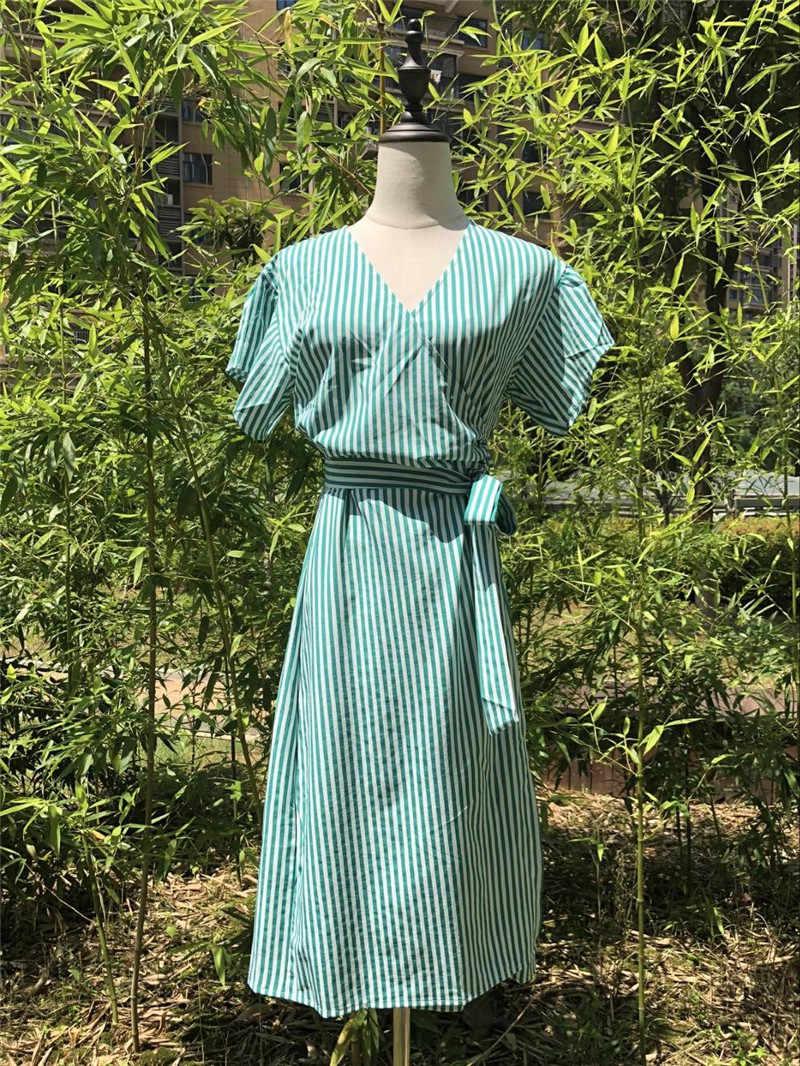 2020 полосатый купальный костюм накидка пляжная туника саронг халат de Plage пляжная одежда кафтаны длинное пляжное женское платье одежда для плавания # Q490