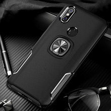 Shockproof Armor Case For Xiaomi Redmi Note 5 Pro 4 4X Note5 Note4 X Ring Holder Covers Case For Xiaomi Mi 9 8 Mi9 SE A2 Xiomi(China)