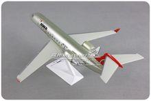 28cm american northwest airlines nwa airlink CRJ-200 1: 100 modelo de aeronaves de montagem plástica para o presente de aniversário adulto do natal do miúdo