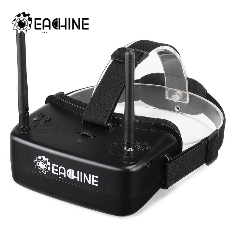 Eachine EW30 2 Inch FPV Goggles TFT LCD 480*360 *2 Display 5.8Ghz 48CH 60-68mm IPD Adjustable FOV 120 Goggles with DVR