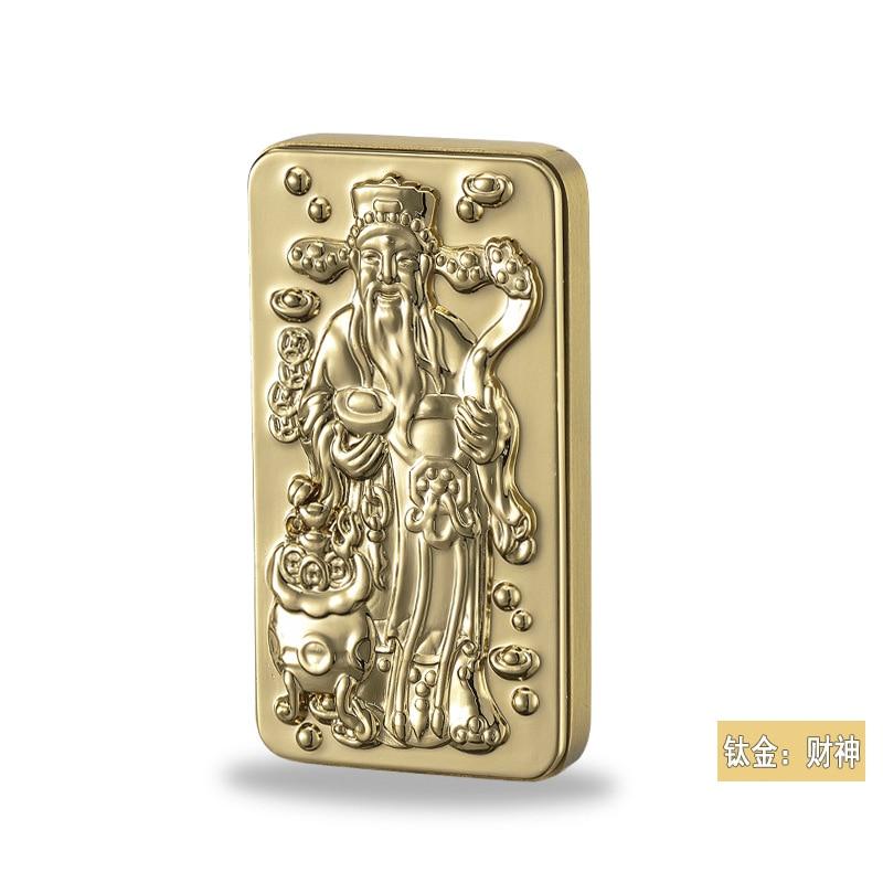 Выпадающая титановая Зажигалка fortuna xinfa boutique slide