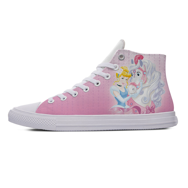 SNOW WHITE PRINCESS HIGH TOP SHOES (5 VARIAN)