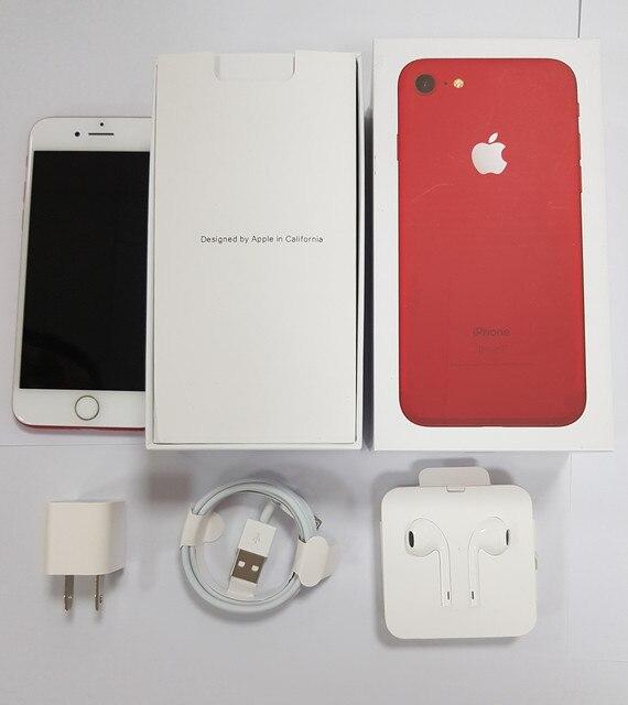 Original Apple iPhone 7 4G LTE Mobile phone Quad Core 2GB RAM 32G/128/256GB IOS  12.0MP Fingerprint  Cell Phones 6