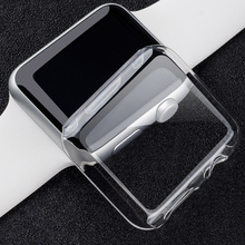 Applicable to Apple Watch Case 4 3 2 1 40MM 44 360 MM Transparent Silicone Full for Iwatch 38MM 42MM