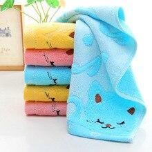 Домашний текстиль, не скрученное бамбуковое волокно, музыкальный Кот, детское полотенце для мытья, s Spa, банное полотенце для лица