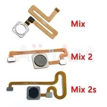 Original Back Home Button Fingerprint Sensor Flex Cable For Xiaomi Mi Mix 2 2s Mobile