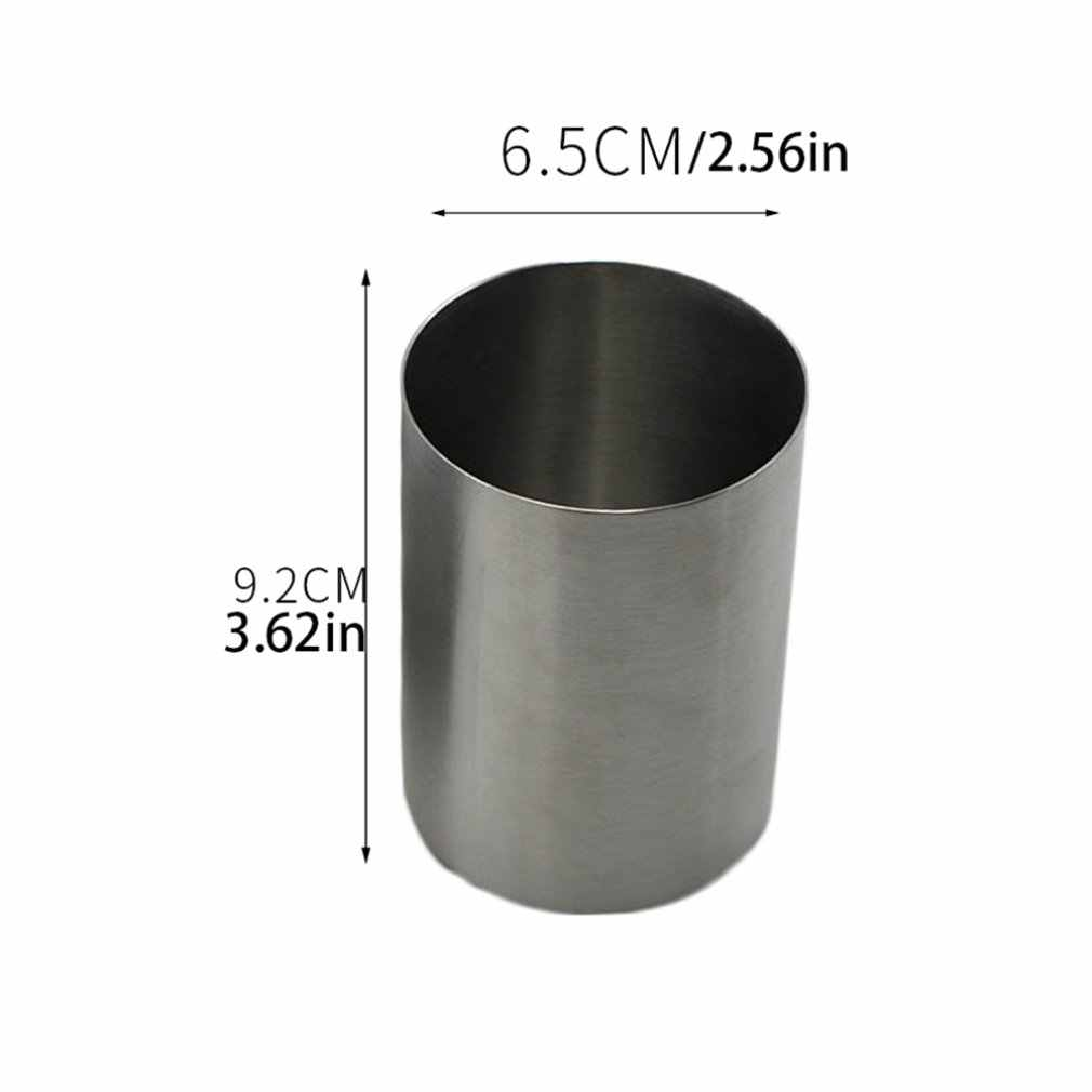 304 ze stali nierdzewnej kufel do piwa Sake Cup małe proste pary kubki mogą być logo na zamówienie pojedyncza warstwa