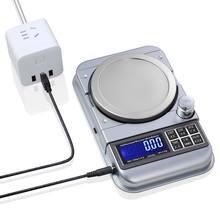 Профессиональные цифровые весы с фиксированным номером, предупреждающие весы 0,01 г/0,1 г, ювелирные весы, электронные весы с USB и ЖК-дисплеем