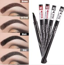 full professional makeup Eyebrow Pencil Eye Brow Tint Makeup Four Colors Eyebrow Pencil Brush Makeup Eyebrow Gel Cosmetics