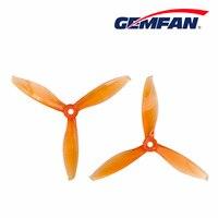 8 sztuk/4 Pair Gemfan Flash 5149 5 Cal tri-blade 3 ostrze CW CCW plastikowe śmigło kompatybilny t-motor dla FPV Racing Drone