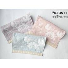 Полотенце с мультяшным рисунком yazan 25*50 см Марлевое милое