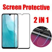 9D Glass For Huawei P Smart 2019 Camera Lens Protector Tempered Screen Huawai Back Film