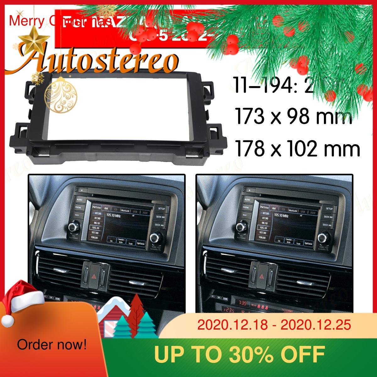Frame Panel Frame Panel Top Radio Fascia for 2012+ Mazda CX 5/ Atenza/ Mazda 6 Stereo Fascia Dash CD Trim Installation Frame Kit Fascias  - AliExpress