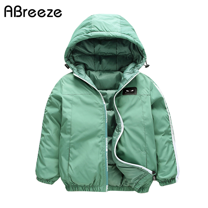Clothing Outerwear Parkas Girls Boys Kids Winter Children New Warm Autumn Unisex Solid
