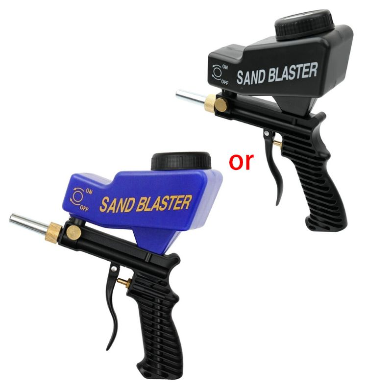 Anti-rust Protection Air Spot Sand Blaster Gravity Feed Sandblasting Handheld