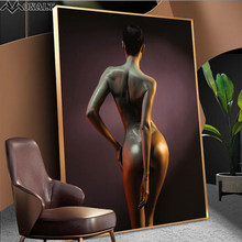 Canvas Painting Abstract Nude Woman Poster and Prints HD Scandinavian Figure Picture Living Room Wall art Decorative Paintings