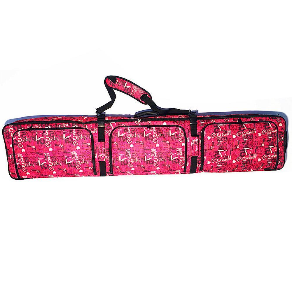 166 см сумка для сноуборда с колесами Одиночная/двойная сумка для сноуборда большой вместимости Лыжная сумка рюкзак Лыжная сумка для наружно...
