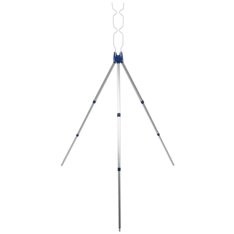 Fishing Rods Tripod Stand Rest For Sea Beach Coarse Shore Pier Tackle Telescopic