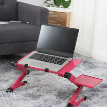 Laptop Desk Stand Ergonomic Computer-Desk Notebook Pc-Table Aluminum Tv-Bed