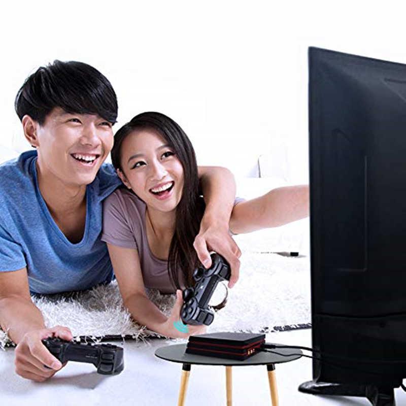 Consola de videojuegos con controlador inalámbrico 2,4G consola de videojuegos HDMI 600 juegos clásicos para la familia GBA TV Retro consola de juego