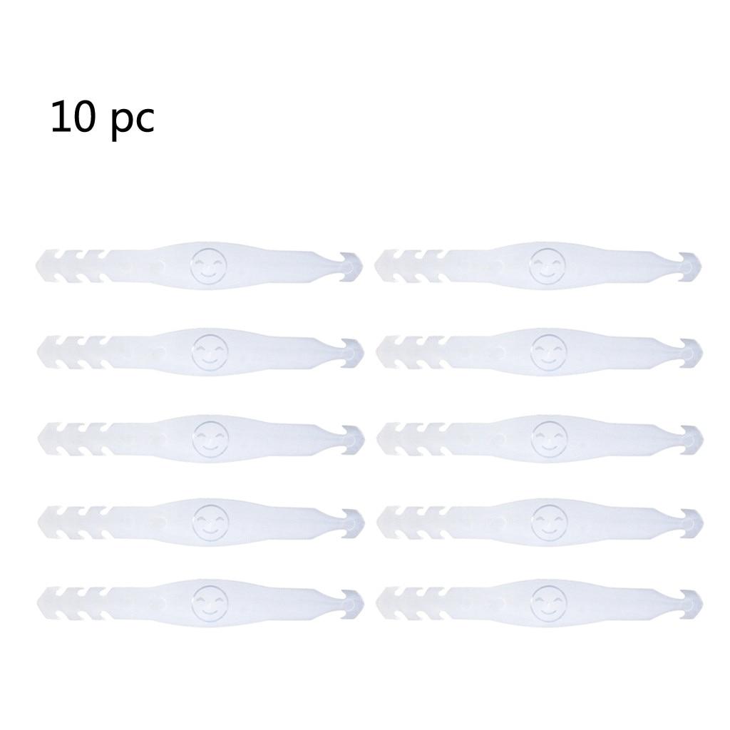 8pc mascarillas Ear Hook Rubber Extension Buckle Fixed Ear Hook 8 colors unisex merceria accesorios face mask fastener ear saver 10