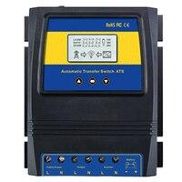 자동 ATS 이중 전원 전송 스위치 태양 광 발전 시스템 용 태양 광 충전 컨트롤러 DC 12V 24V 48V AC 110V 220V On/Off Grid
