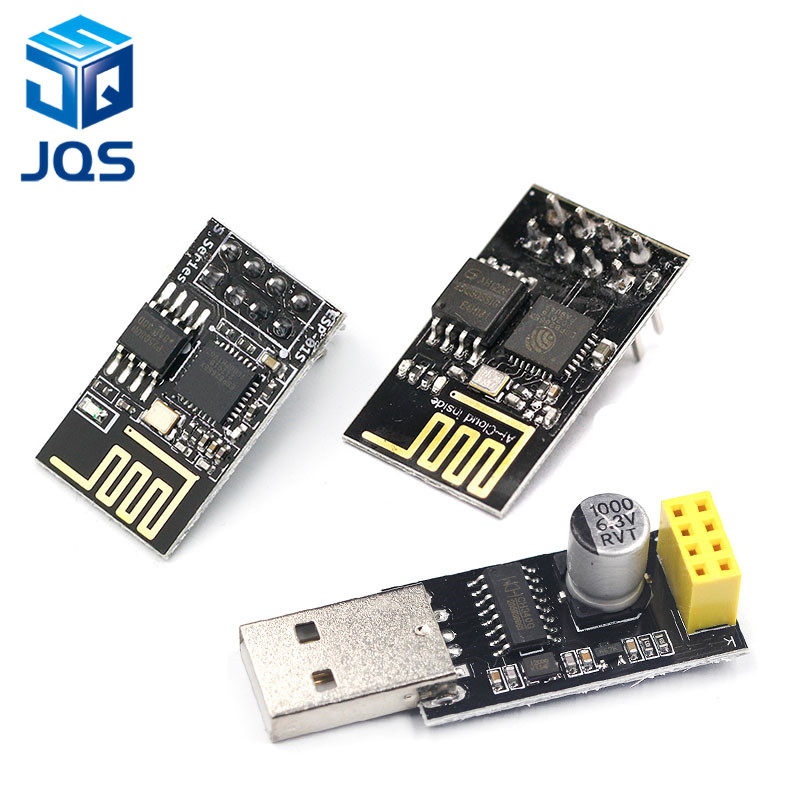 ESP01 Programmer Adapter UART GPIO0 ESP-01 Adaptaterr ESP8266 CH340G USB To ESP8266 Serial Wireless Wifi Developent Board Module