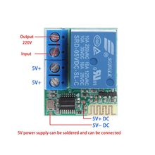Relay Switch With Bluetooth APP Control Time-Relayed Module