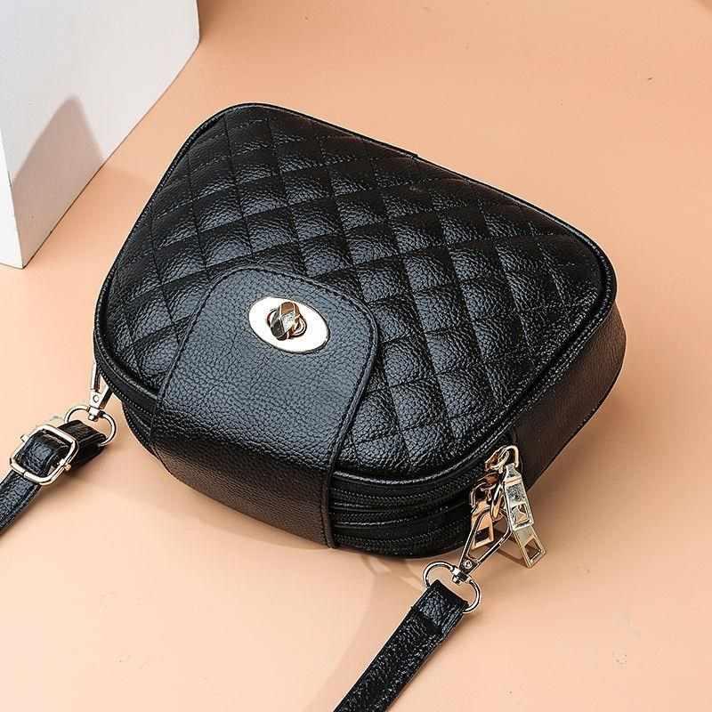 Летняя маленькая сумка-мессенджер на плечо для девушек, женские трехслойные круглые роскошные сумки, сумки через плечо для женщин, дизайнерские сумки