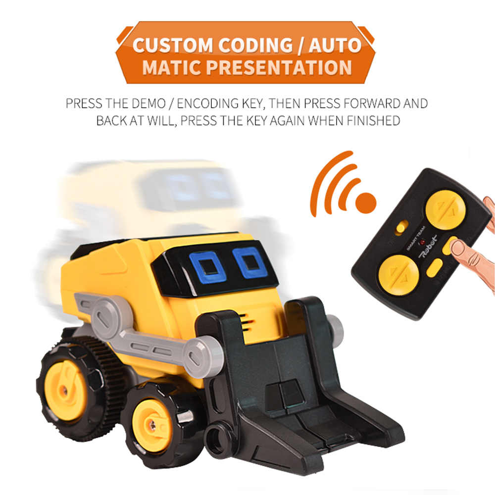 RC araba JY01 uzaktan kumanda Mini mühendislik araba traktör oyuncak DAMPERLİ KAMYON Model buldozer Forklift klasik oyuncak çocuklar için çocuk hediye