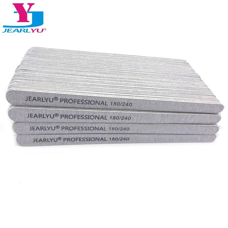 500pcs/lot Sandpaper Nail File 180/240 Professional Manicure Buffer Pedicure Double-sided Set De Limas Nail Tools Wholesale File