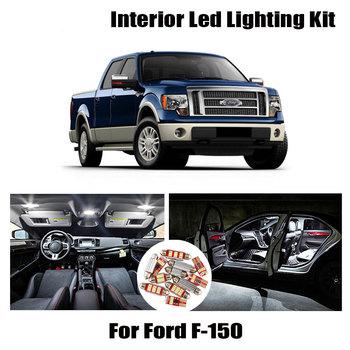 Canbus LED mapa wnętrza kopuła światło bagażnika dla Ford F-150 F150 1992-2020 akcesoria samochodowe oświetlenie samochodowe czytanie lampy sufitowej tanie i dobre opinie ZXCXZ CN (pochodzenie) Oświetlenie wnętrza 300LM Festoon-31mm 12 v 1990 1991 1993 1994 1995 1996 1997 1998 19 99 2000