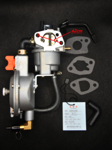 Image 2 - 168F Carburetor Dual Fuel for Gasoline Generator LPG NG Conversion Hybrid 2KW 2.5KW GX160 +90cm*90cm Scarf as Gift, Brand TONCO