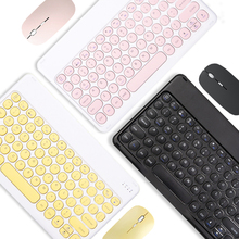 Phone PC Tablet Universal 10 inch Keyboard for Huawei Samsung Xiaomi Tablet Bluetooth Keyboard for iPad Pro 11 12.9 2020 Air 4