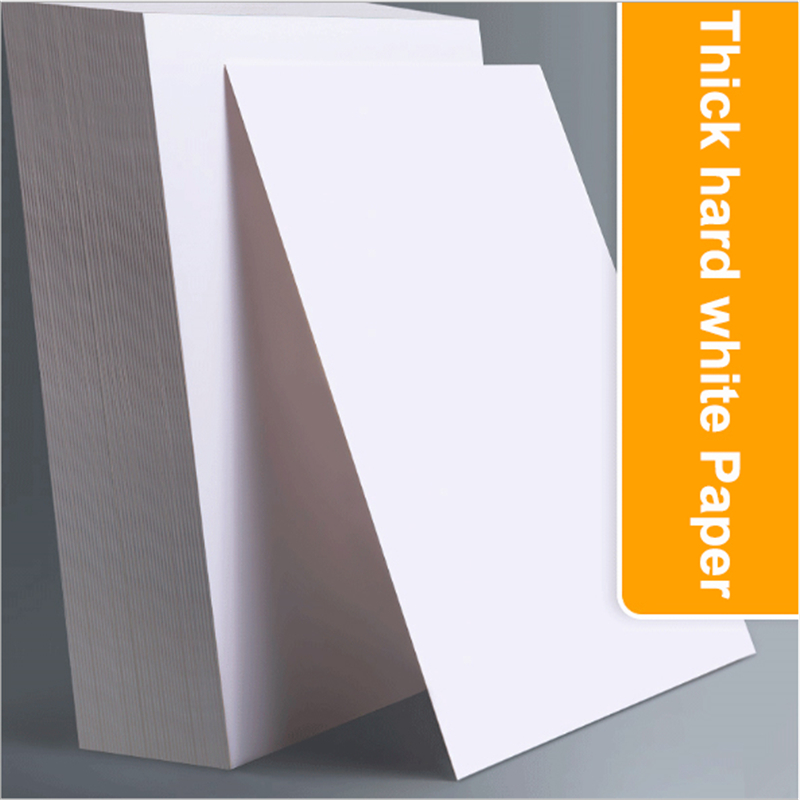 50 Sheets A4/ 8K White Drawing Paper Thicker Hard Art Sketch Paper Marker Pen Paper Students Graffiti DIY Paper
