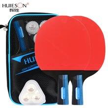 Huieson s300 ракетка для настольного тенниса 7 слоев деревянная
