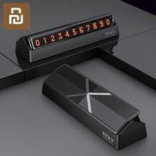 شاومي Titx X نوع الوجه سيارة درجة الحرارة وقوف السيارات رقم الهاتف بطاقة لوحة سيارة صغيرة الديكور ل شاومي Mi المنزل