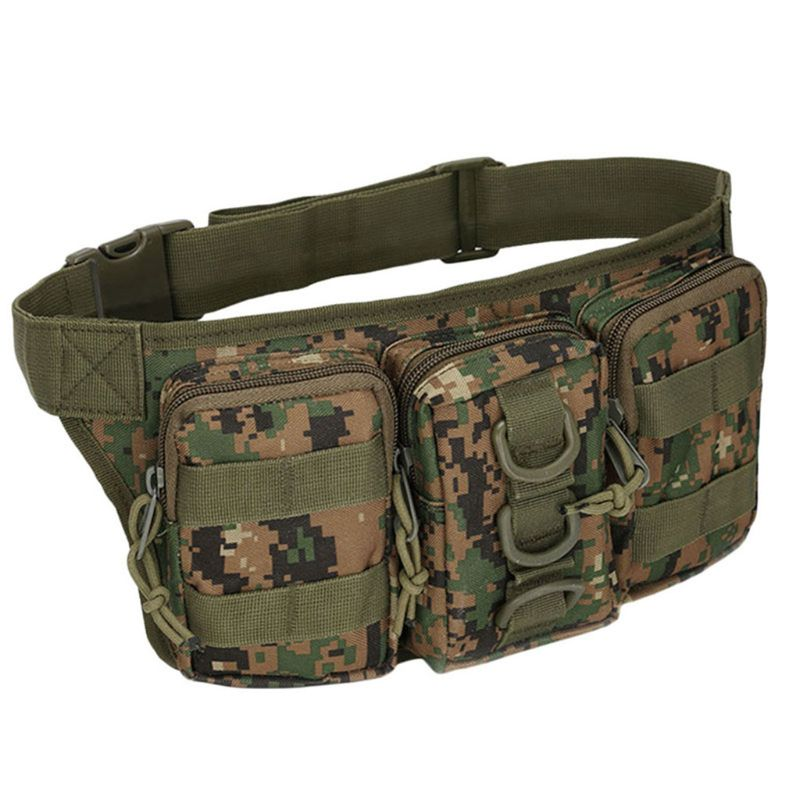 Utility Tactical Waist Fanny Pack Pouch Military Outdoor Hiking Camping Belt Bag