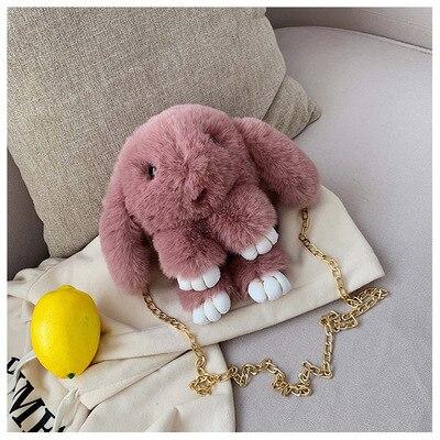 Τσάντα χειρός & ώμου σε σχέδιο κουνέλι