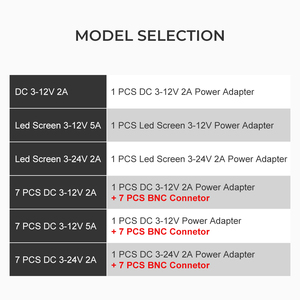 Image 5 - Adaptateur secteur réglable ca à cc 3 V 12 V 3 V 24 V 9 V 24 V écran daffichage universel tension régulée alimentation adatpor 3 12 24 v