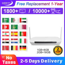 Leadcool Q9 Smart tv Box Android 8.1 IPTV Spain M3U Subscription Portugal Arabic IPTV Nederland Germany Belgium Morocco IP TV france iptv x96 mini 1 year qhdtv arabic french iptv code s905w smart subscription tv box x96 morocco french iptv belgium ip tv